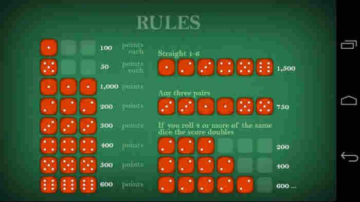 Game craps rules casino